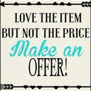 Other - Making Me A Reasonable Offer!